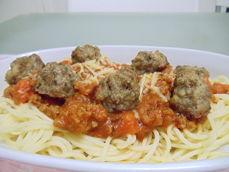 Life Is Colorful Step By Step Spaghetti Bolognese With Meatballs