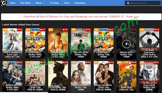 Cara Terbaru Download Film di Situs Ganool dengan Mudah dan gratis