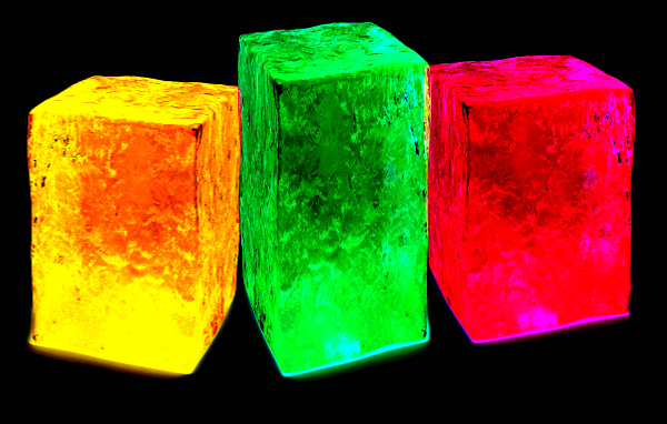 Learn about corrosion and the freezing point of water with the glowing ice and salt experiment for kids!  This experiment makes science fun and is sure to engage children of all ages. #iceexperimentsforkids #glowingicecubes #glowingiceexperiment #iceandsaltexperiment #iceandsalt #glowingexperiments #glowingice #scienceexperimentskids #growingajeweledrose