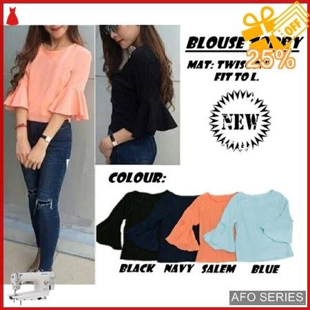 AFO077 Model Fashion Blouse Torry Modis Murah BMGShop