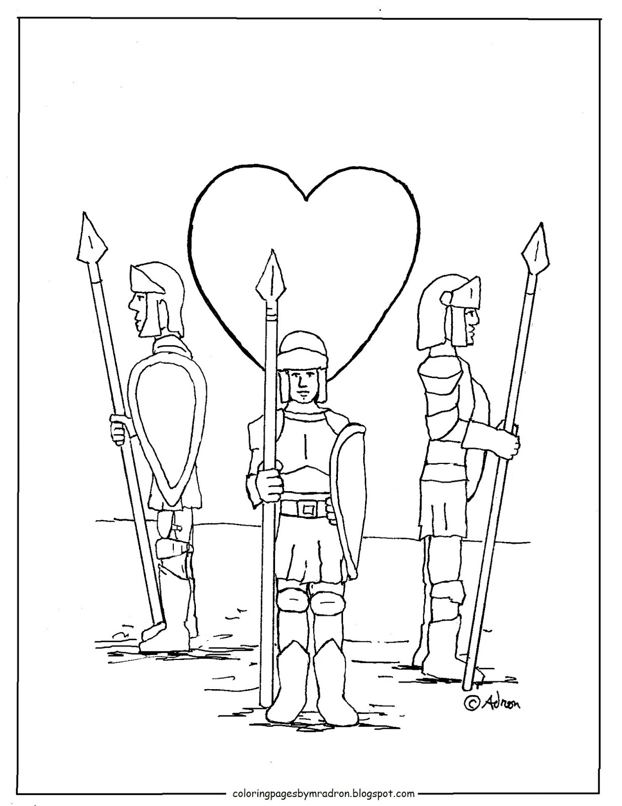 National guard coloring pages ~ Coloring Pages for Kids by Mr. Adron: Guard Of Your Heart ...