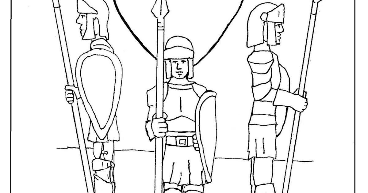 Coloring Pages for Kids by Mr. Adron: Guard Of Your Heart