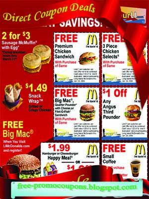 coupons mcdonalds borken