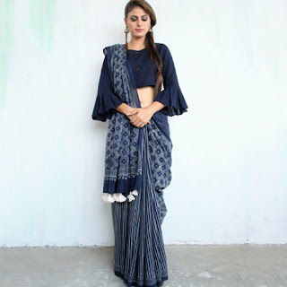 Indian-designer-embroidered-blouse-designs-for-plain-saree-13