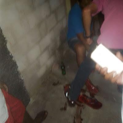 Jovem é baleado na perna no Bairro Campo Velho em Chapadinha.