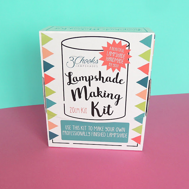 3Chooks Lampshade Making Kit Packaging