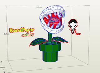 planta carnivora supermario