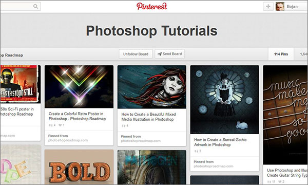 Photoshop Roadmap's Photoshop board on Pinterest