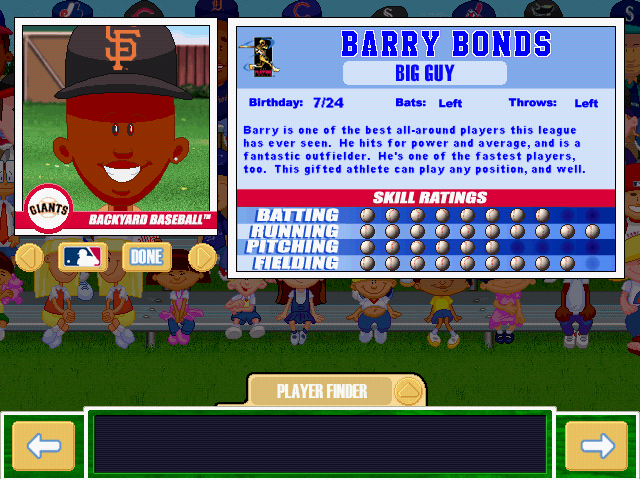 Backyard Baseball Players too much tuma: backyard baseball 2017 player representatives