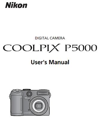 Nikon Coolpix P5000 User Manual