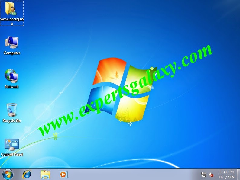 Windows 7 Basic Desktop Customization