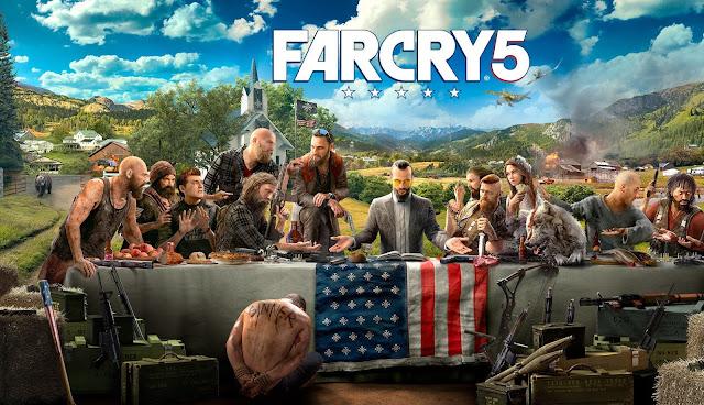 """""""Far Cry 5"""" Game phiêu lưu hành động 2018"""