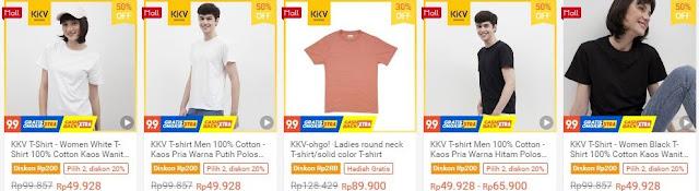 T-shirt Toko KKV Indonesia