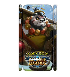Custome Case 3D Iphone 6 Design Games Mobile Legends 06