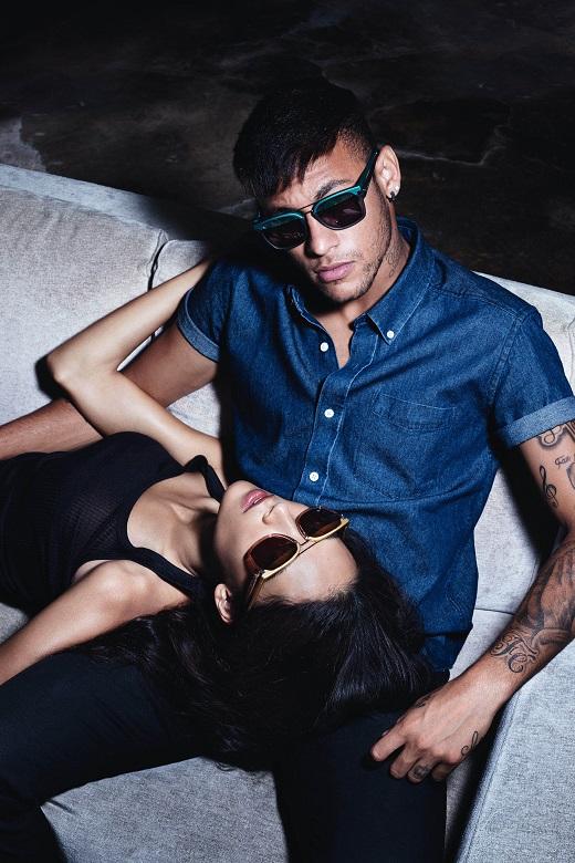 Lunettes soleil, Neymar Jr, ambassadeur marque Police, mode hommes 2018