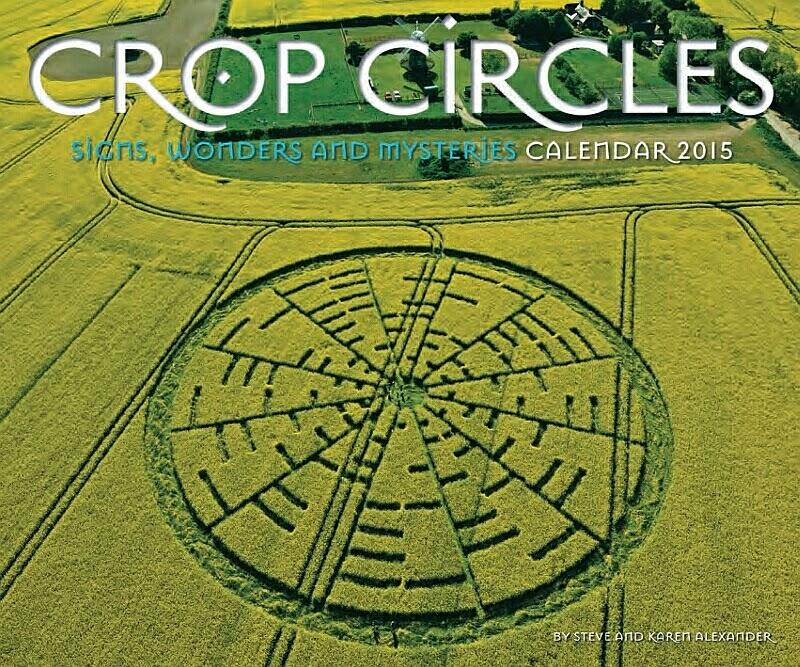 2015 Steves CC Calendar cover - LUCES BRILLANTES, UN CROP CIRCLE