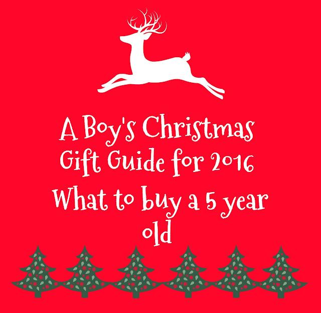 Boys Christmas Gift Guide