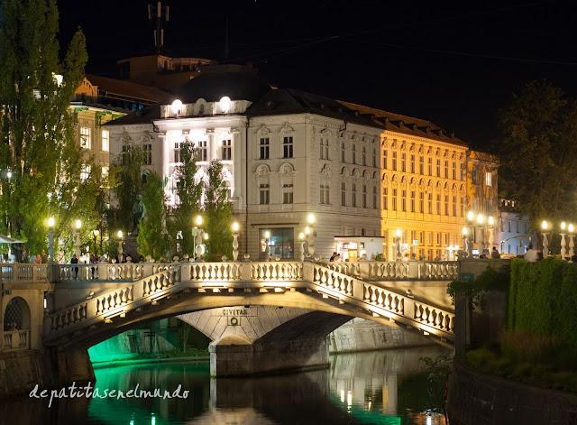Puente Triple de Liubliana
