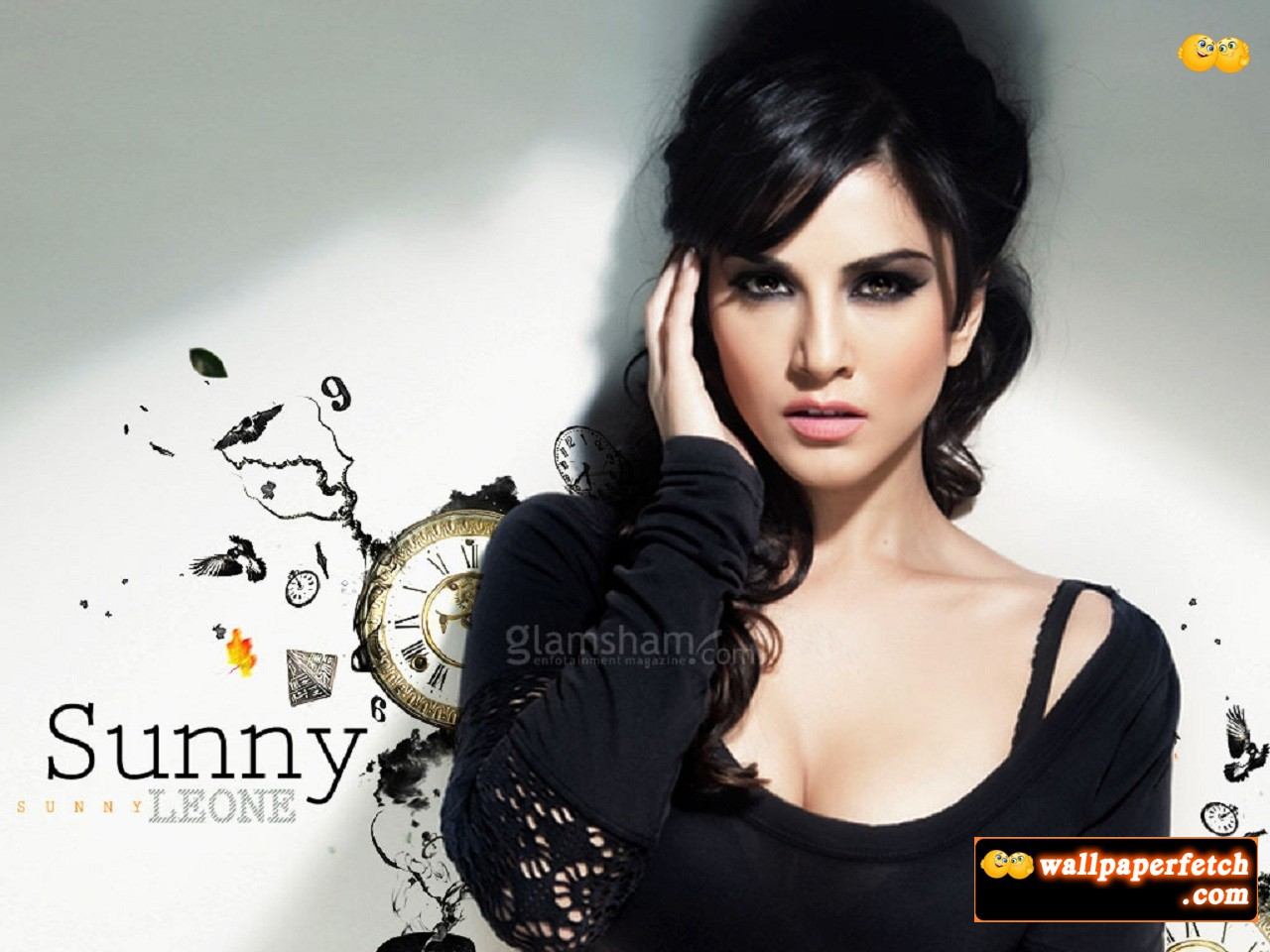 Wallpaper Fetch Sunny Leone Hot Wallpapers 2012-9851