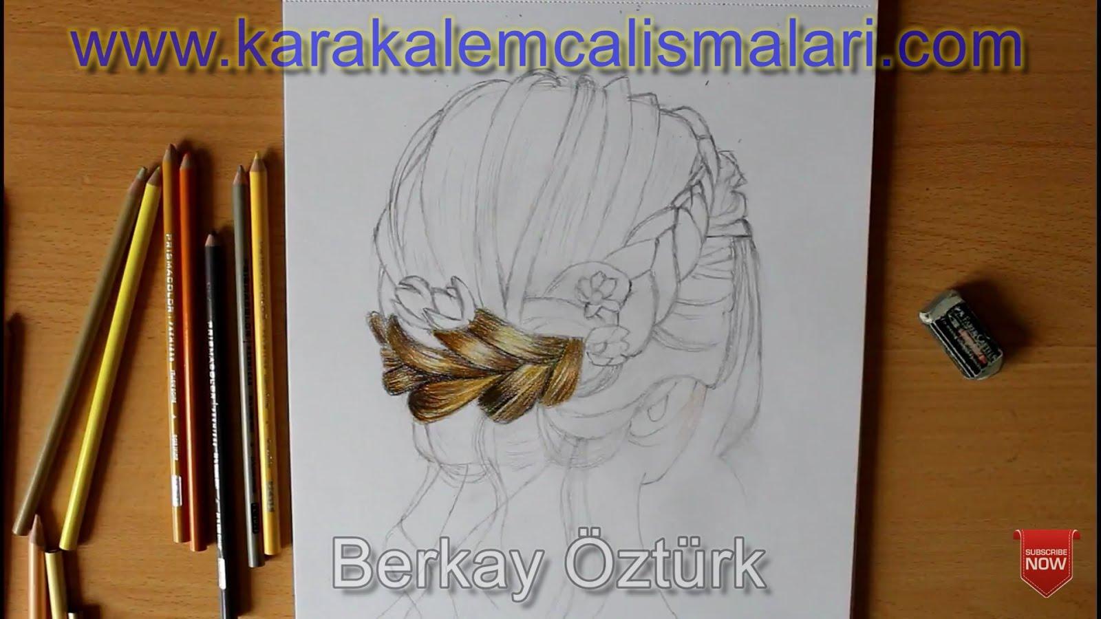 Saç çizimi Nasıl Yapılır örgü Saç çizmenin Incelikleri Karakalem