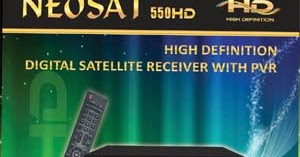 Neosat 550 HD Receiver Software ~ DishUpdates