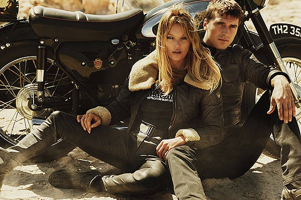 Kate Moss in advertising Matchless