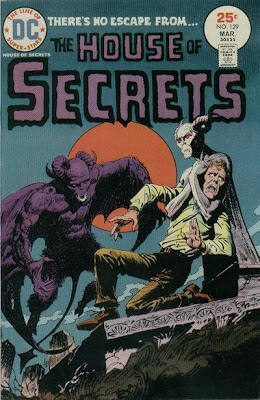 House of Secrets #129, graveyard