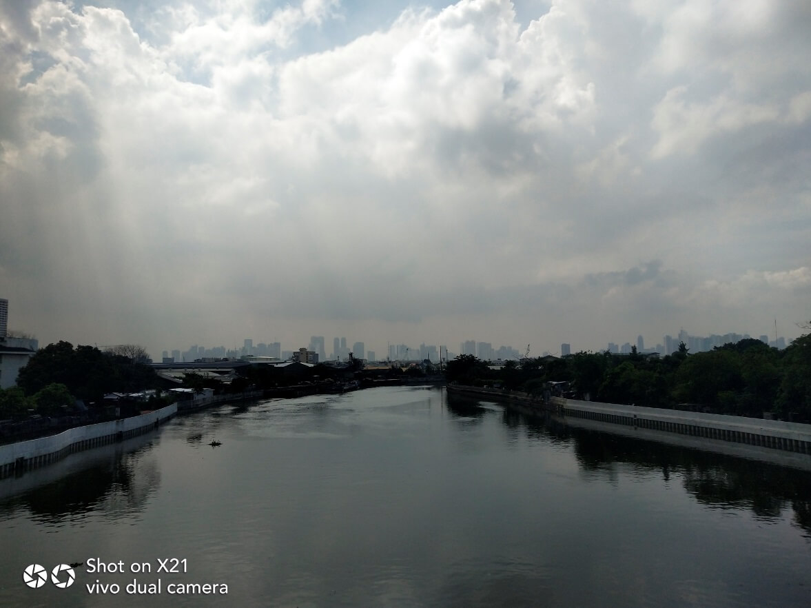 Vivo X21 Main Cameras Sample - Outdoor, River, Against the Light