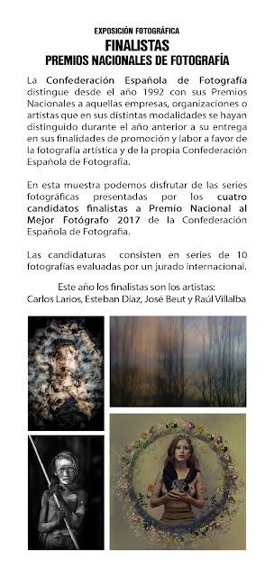 """Exposición de los finalistas a """"Mejor fotógrafo/a"""" de la CEF"""