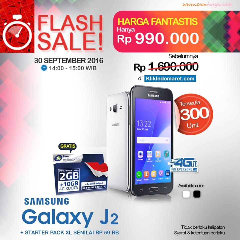 Promo Klik Indomaret Flash Sale Samsung Galaxy J2 Rp 999 Ribu Voucher Alfa Dan