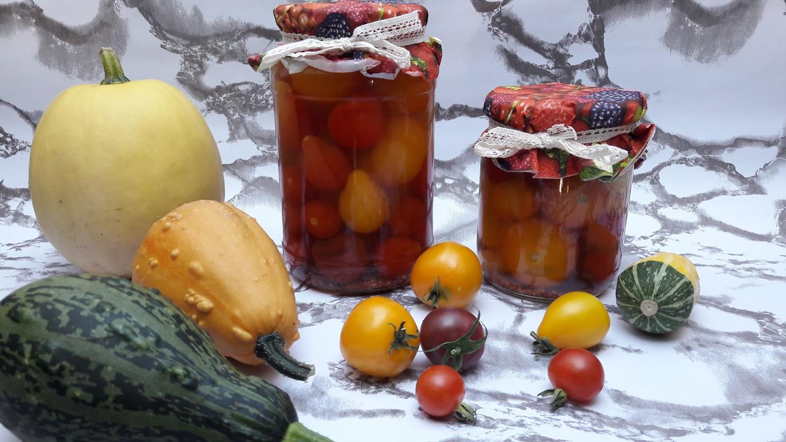 pasteryzcja pomidorów