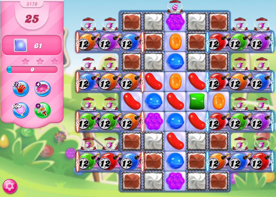 Candy Crush Saga level 3170