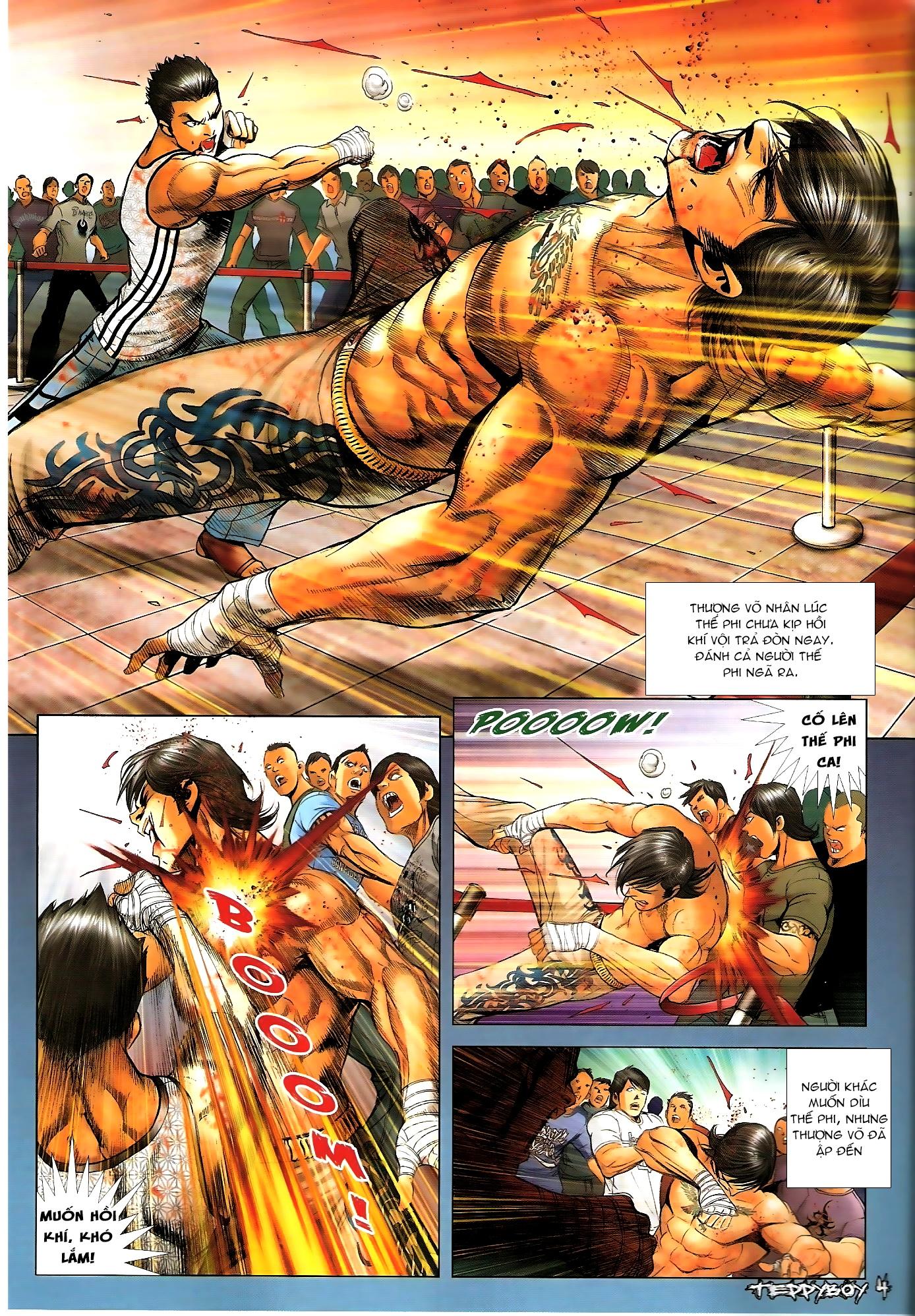 Người Trong Giang Hồ - Chapter 1308: Máu rưới Anh Hùng Bar - Pic 3