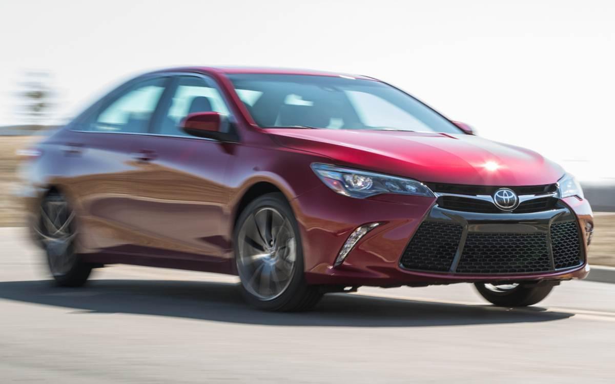 Toyota Camry - vendas em queda