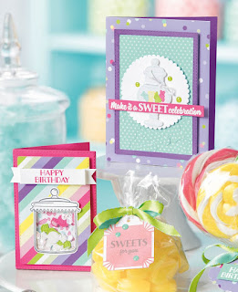 8 Stampin' Up! How Sweet It Is Sweet Suite Projects ~ Sweetest Thing Bundle ~ 2019 Occasions Catalog