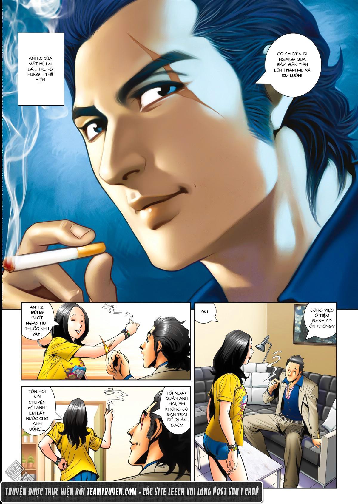 Người Trong Giang Hồ NetTruyen chap 1503 - Trang 12