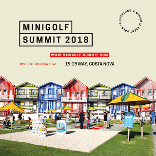 Minigolf Summit in Costa Nova, Portugal