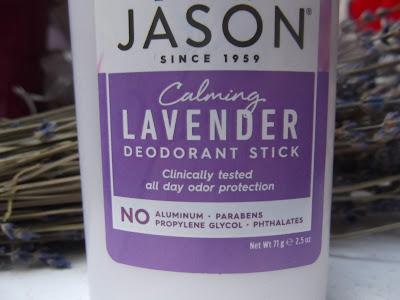 JĀSÖN levanduľový dezodorant
