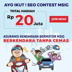 Kontes SEO Asuransi Kendaraan MSIG