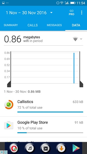 كيفية عرض إحصائيات الإتصال لكل جهة إتصال وإستهلاك الانترنت علي هاتفك الاندرويد
