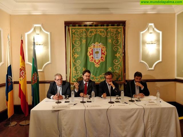 PP palmero celebró ayer unas charlas en el Casino de Aridane sobre la Nueva Ley de Autónomos