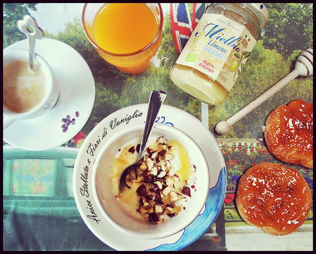 Ricetta yogurt nocciole e miele