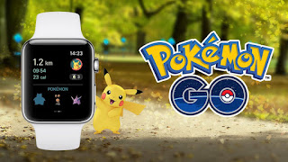 You can now Play PokeMon Go on an Apple Watch