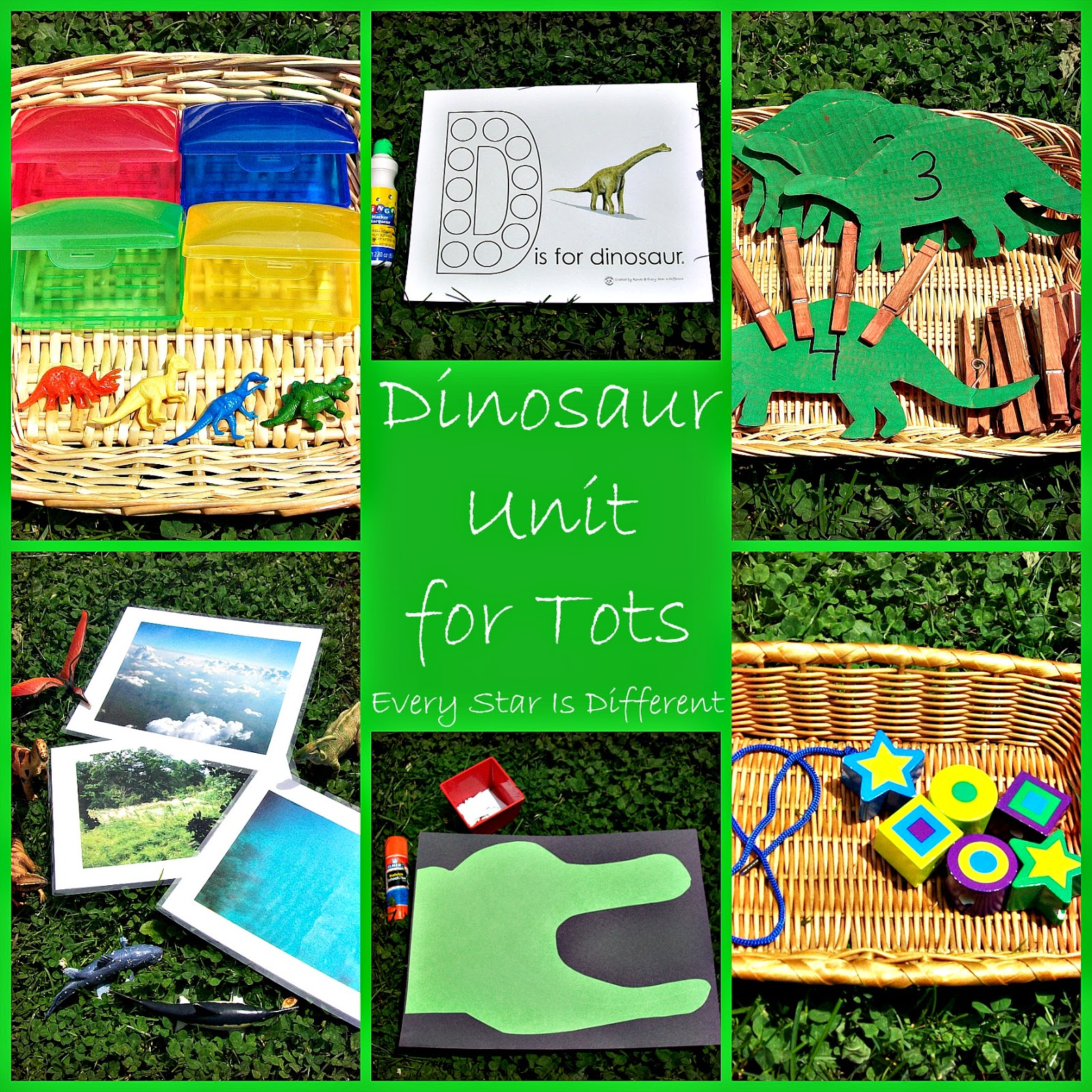 dinosaur unit 3 with free printables every star is different. Black Bedroom Furniture Sets. Home Design Ideas