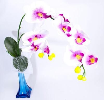 Bunga Plastik / Bunga Artificial Anggrek