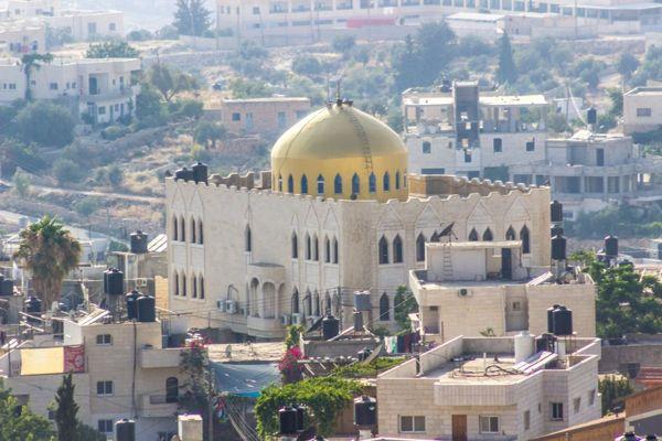 Mezquita de Umar en Nuba, Ribera Occidental. (Assaf Abraham)