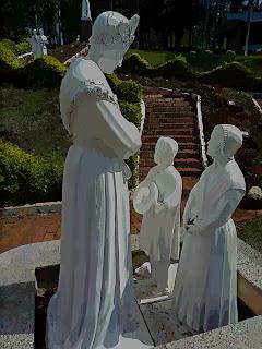 Imagens no Santuário Nossa Senhora da Salete, Marcelino Ramos