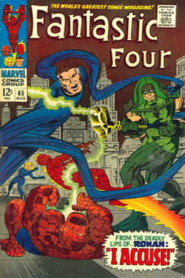 Fantastic Four #65, Ronan the Accuser
