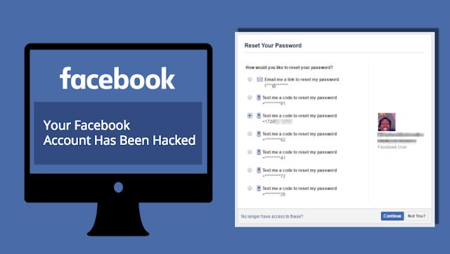 Cara mengembalikan akun facebook yang di hack
