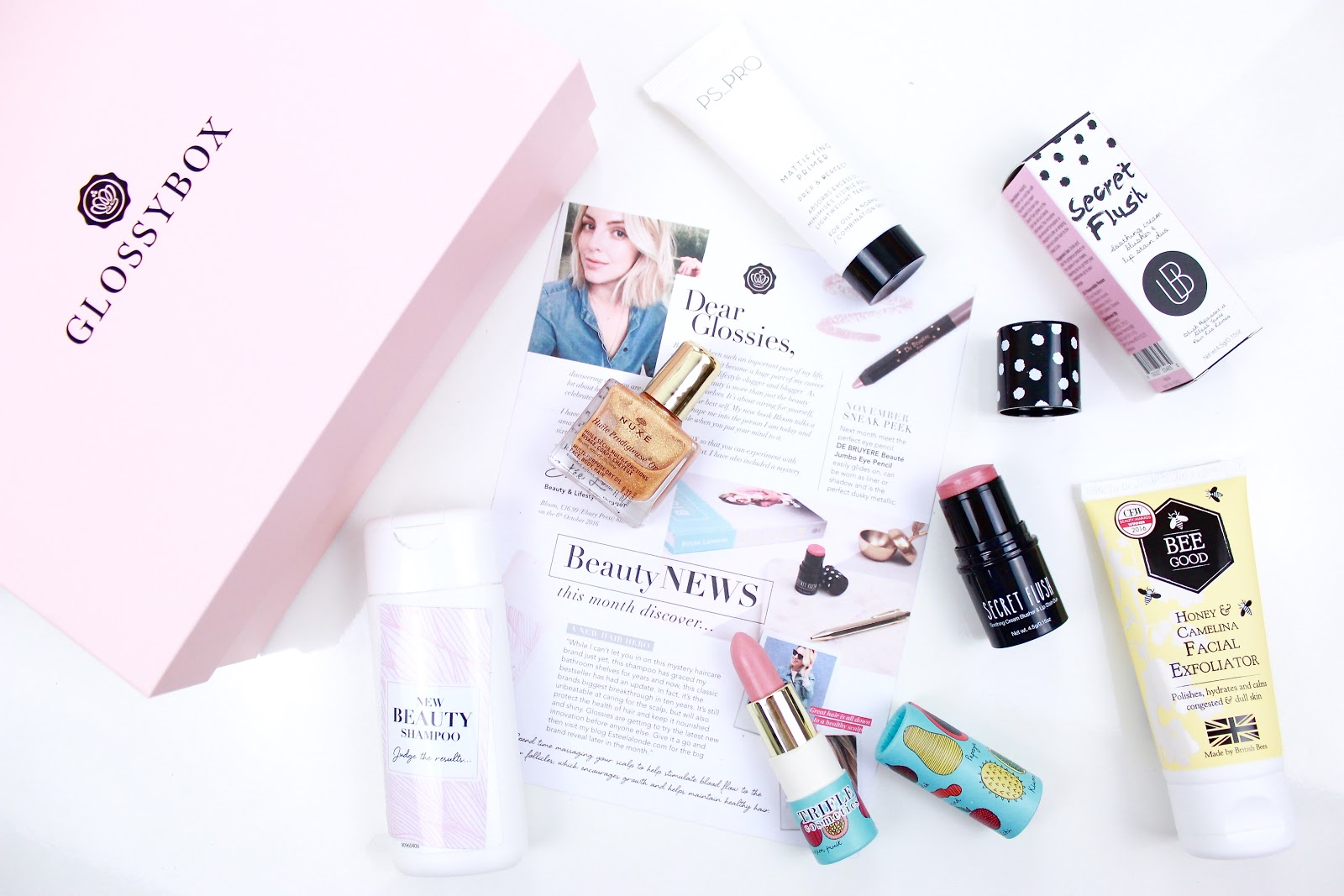 October Glossybox 2016 and discount Code